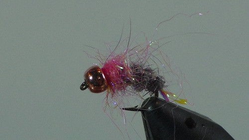 How to tie the Pink Squirrel fly pattern