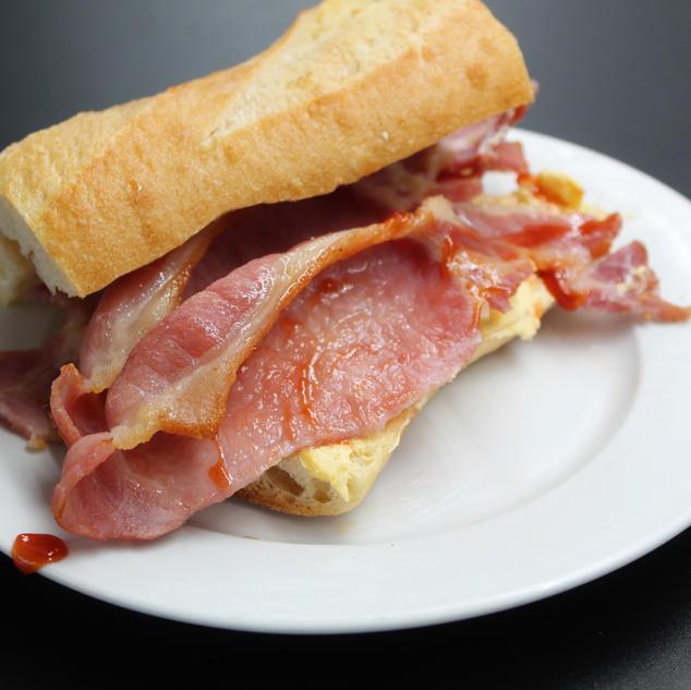 Our Proper Bacon Bun