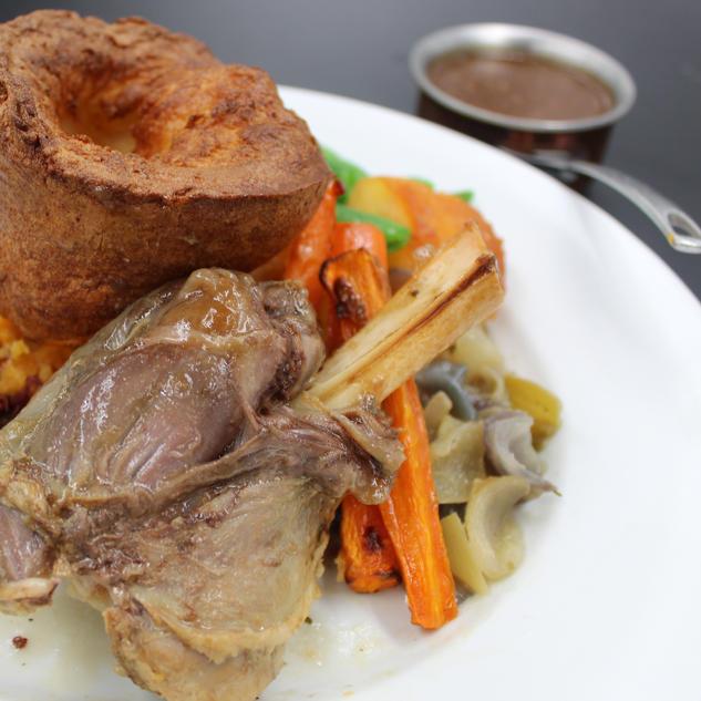 Braised Lamb Shank