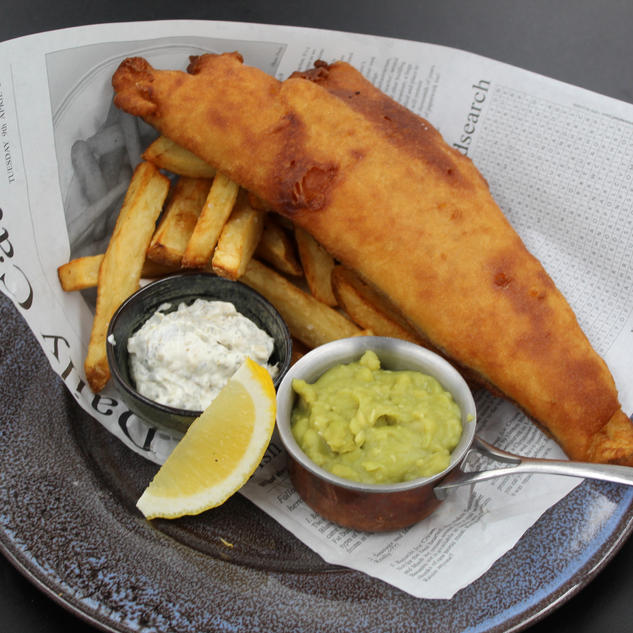 Fresh Grimsby Beer Battered haddock