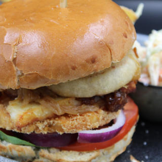 (V) The Halloumi Burger