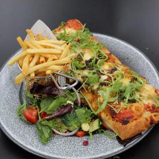 (V) Flatbread Pizza