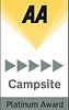 AA Campsite Platinum Award