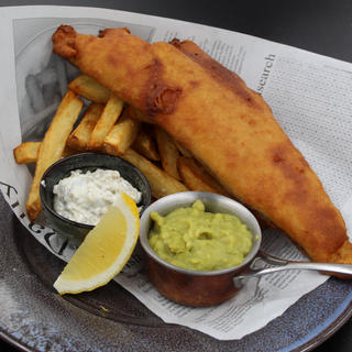 Local Ale Battered Grimsby Haddock