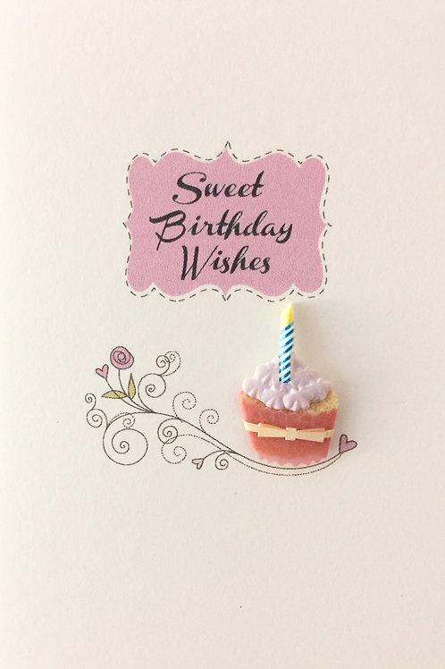Birthday Cupcakes Asst Note Card Set-NC24