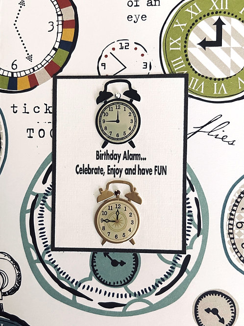 Birthday Alarm Note Card Set - NC175