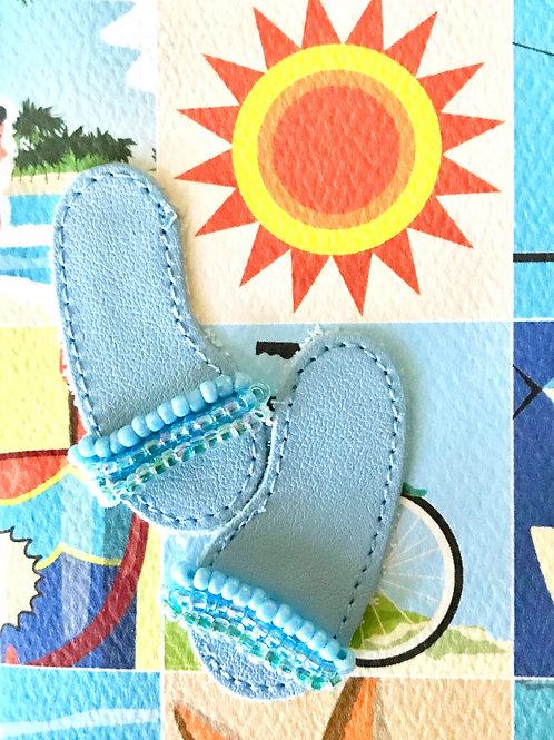 Leather Flip Flops - 108A/13