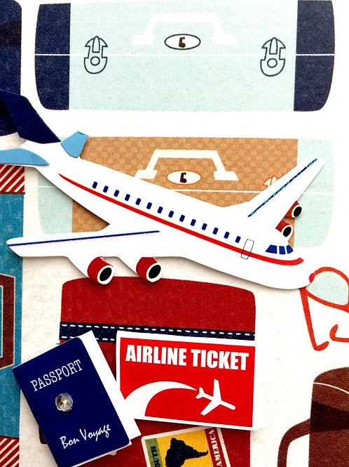 Plane Travel Gift Card 108A/11