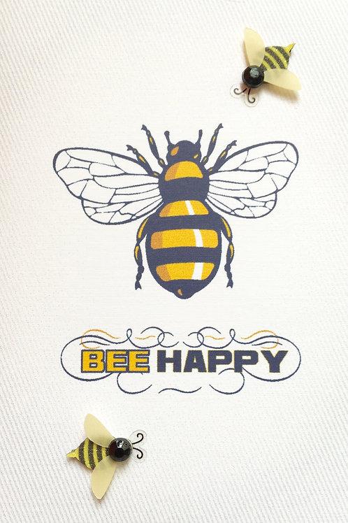 Bee Happy Note Card Set-NC57