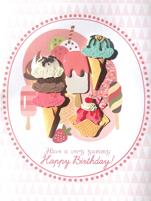 Birthday Ice Creams - 1379