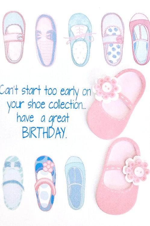 Birthday Shoes - NC160