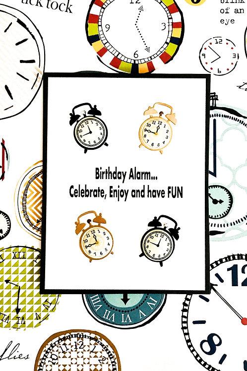 Birthday Alarm Greeting Card - 1453