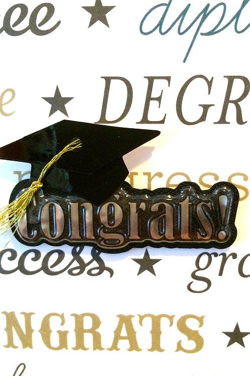 Congrats Cap Gift Card 105A/6