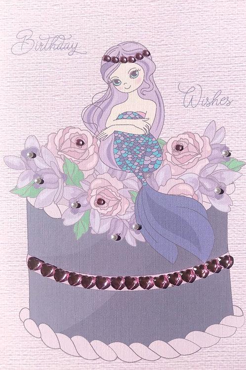 Birthday Mermaid Cake - 1415