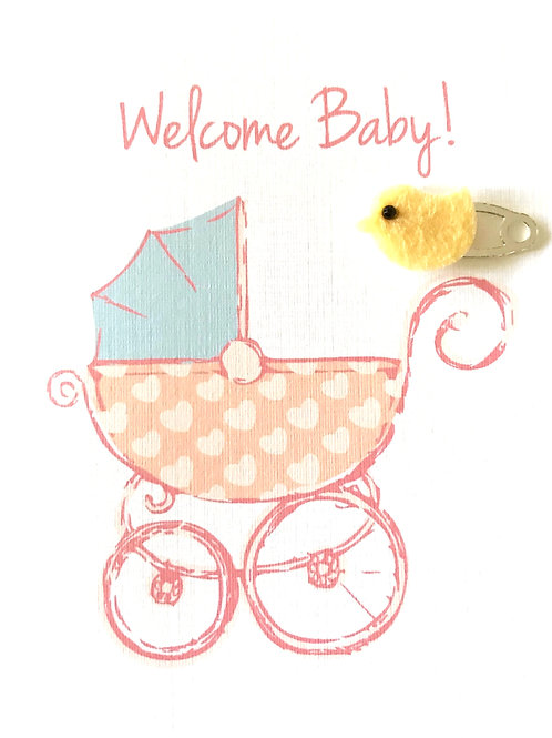 Welcome Baby Note Card Set-NC79