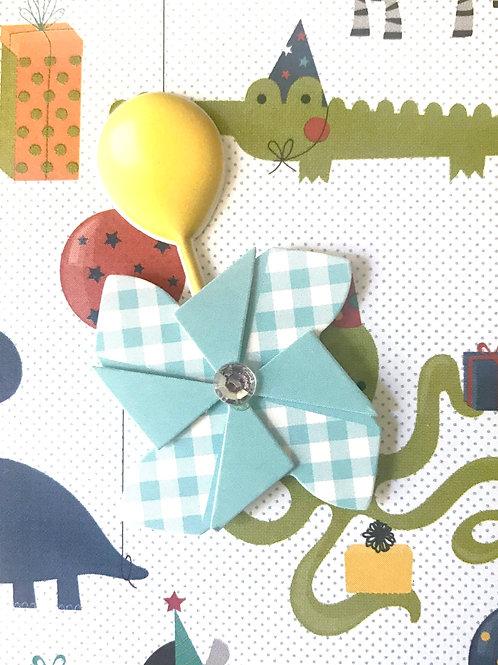 Boy Twirler Gift Card - 122A/42