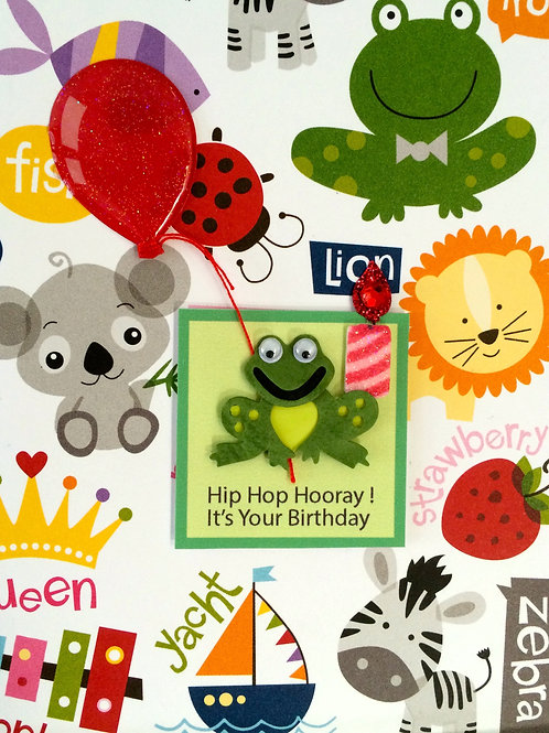 Froggie Birthday -932