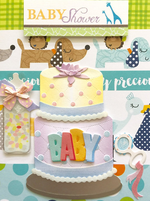 W-Baby Shower Cake -883