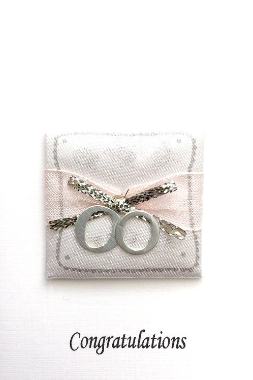 Wedding Ring Pillow Gift Card 101A/10