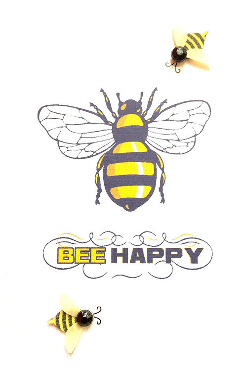 Blank Bee Happy Greeting Card - 1437