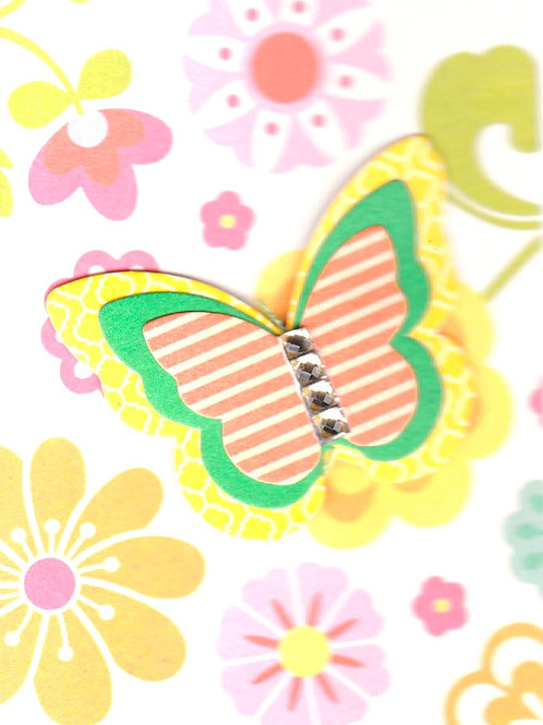 Butterfly Gift Card - 143A/6