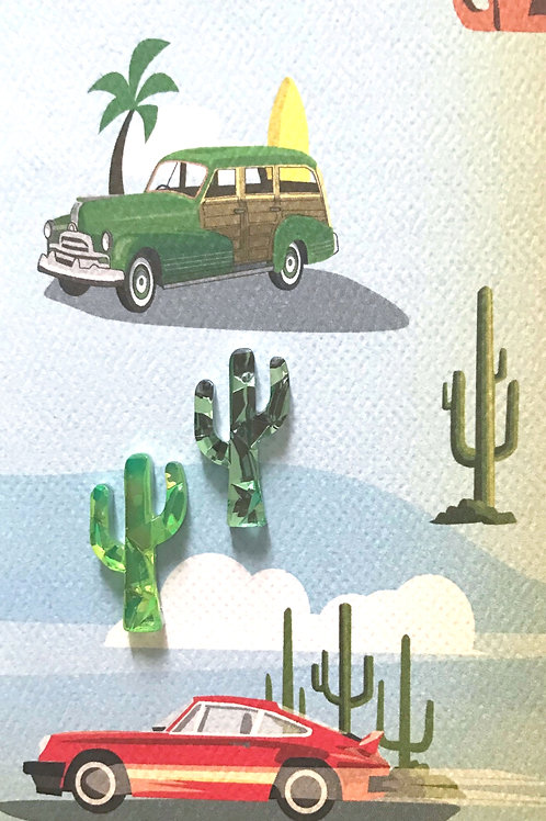 Cars and Cacti Asst Note Card Set-NC95