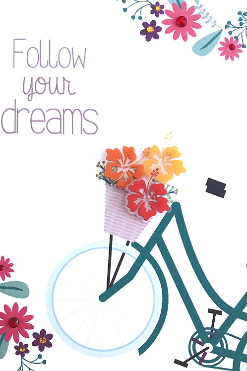 Follow Your Dreams Note Cards - NC142
