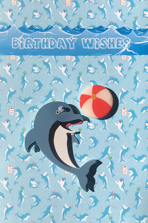 Dolphin Birthday - 1243