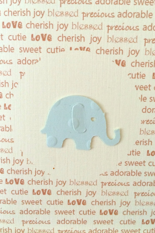 Elephant Baby Gift Card 116A-6