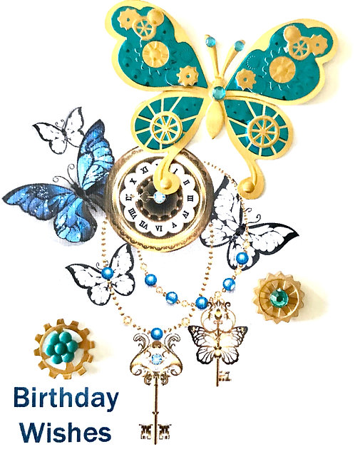 Steampunk Butterflies Birthday-1216