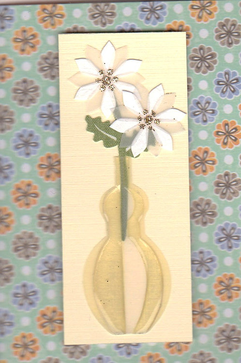 White Flower in Vase 143A/28