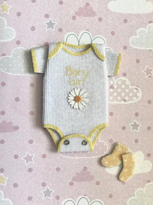 Baby Girl Onesie Gift Card 117G-19