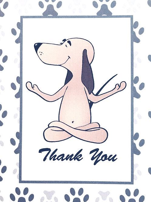 Thank You Yoga Dog - A104