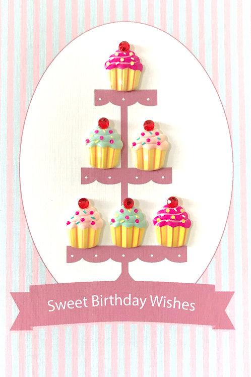 Sweet Birthday Cupcakes - 1381