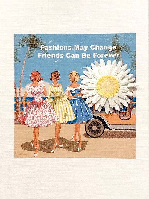 Friends Forever Note Card Set-NC105