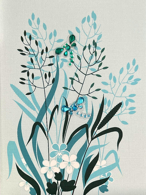 Dragonflies Note Card Set - NC180