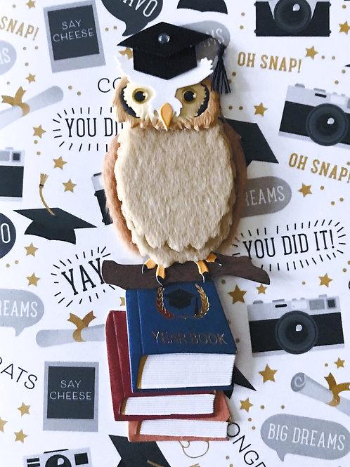 Graduation Owl -998