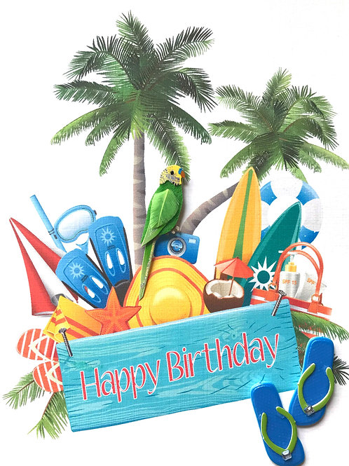 Birthday Vacation - 1398