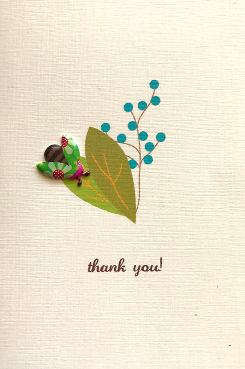Ladybug Thank You Asst Note Card Set-NC10