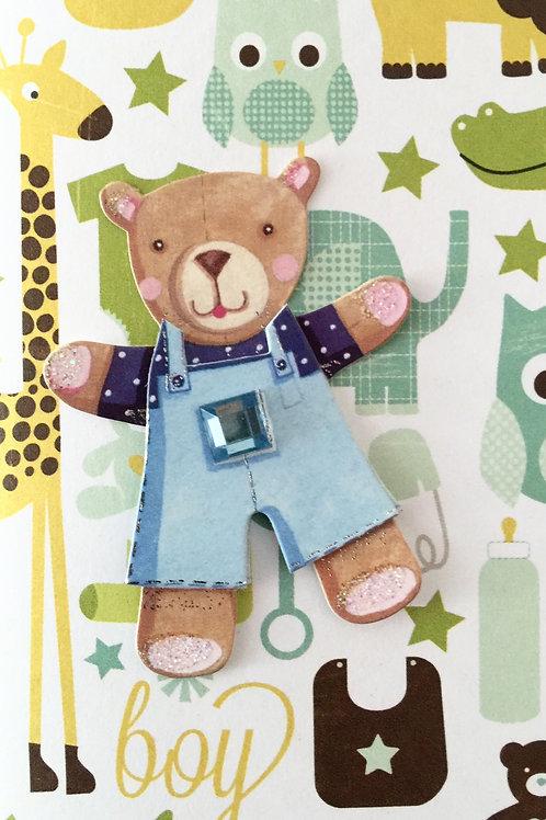 Bear Note Card Set-NC33