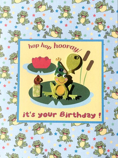 Froggie Birthday -932