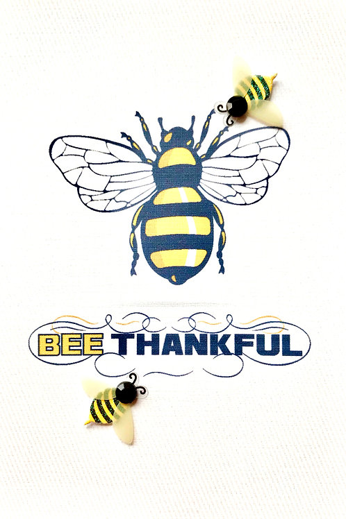 Bee Thankful Note Cards - NC135