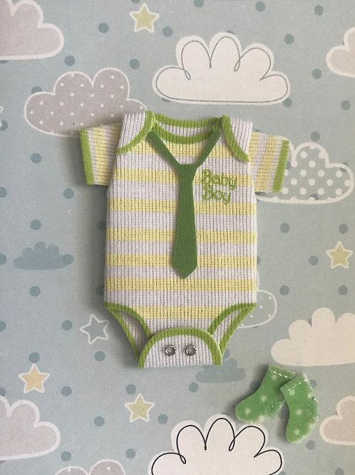 Baby Boy Onesie Gift Card 117B-19