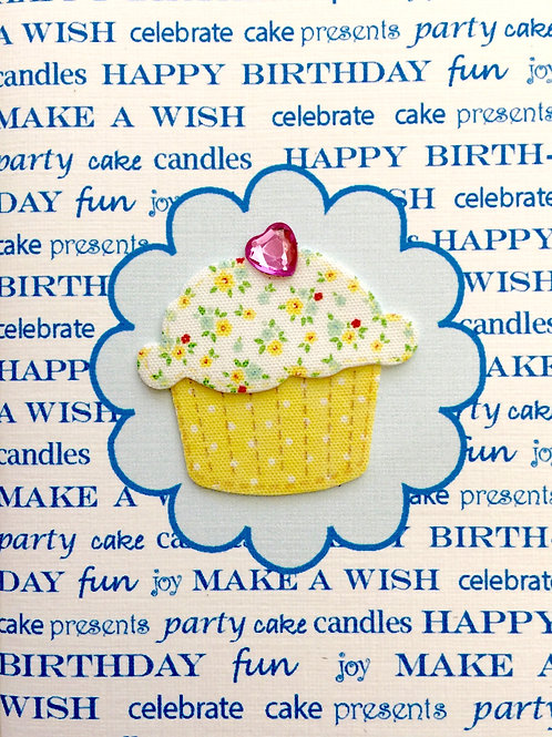 Birthday Cupcake Gift Card 122A/32