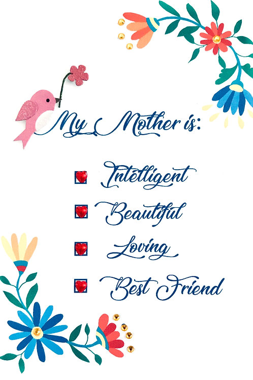 Mother's Day List Greeting Card - 1465