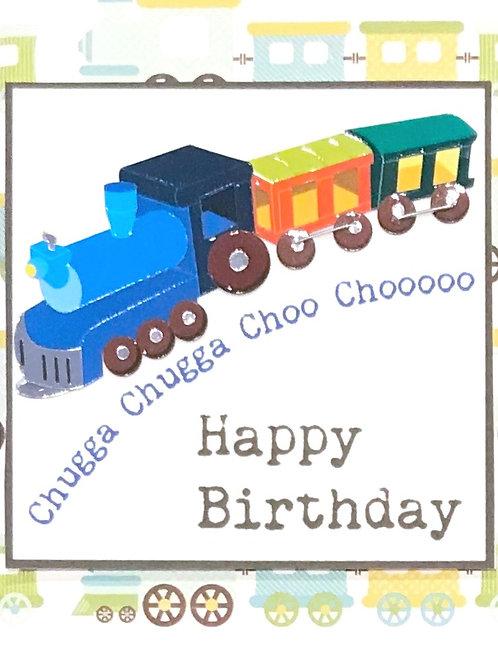 Birthday Choo Choo-122A/39