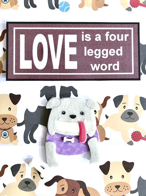Love 4 Letter Word - A100