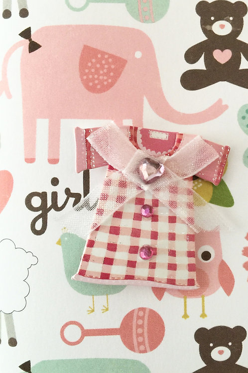 Girl Dress Gift Card - 122A/1