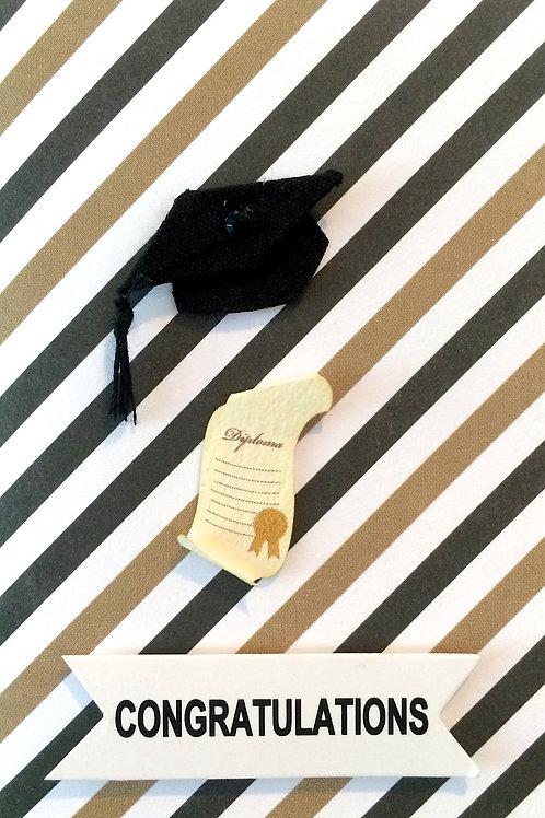 Cap and Diploma Gift Card 105A/7