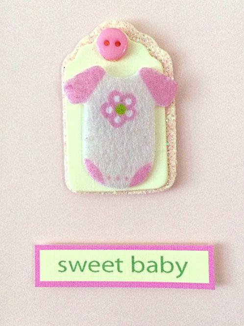 Sweet Baby Girl Onesie Gift Card 117G-14